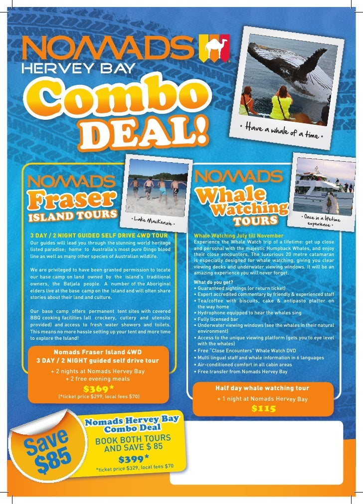 ombo HERVEY BAY  C                       DEAL!                                                                            ...