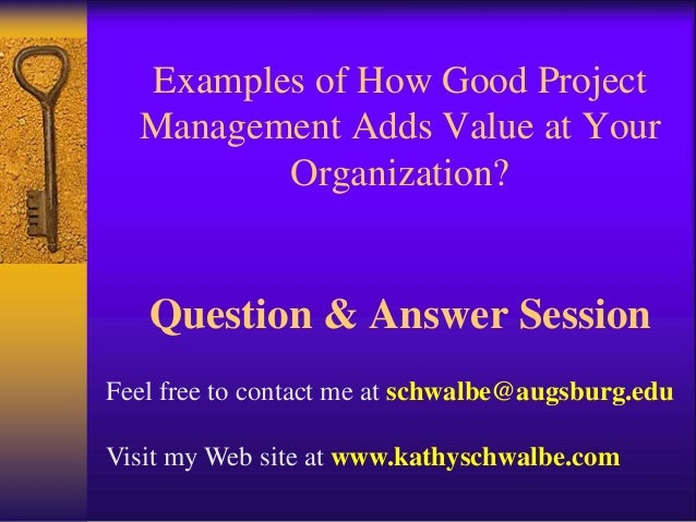 project management powerpoint presentation example idea gallery