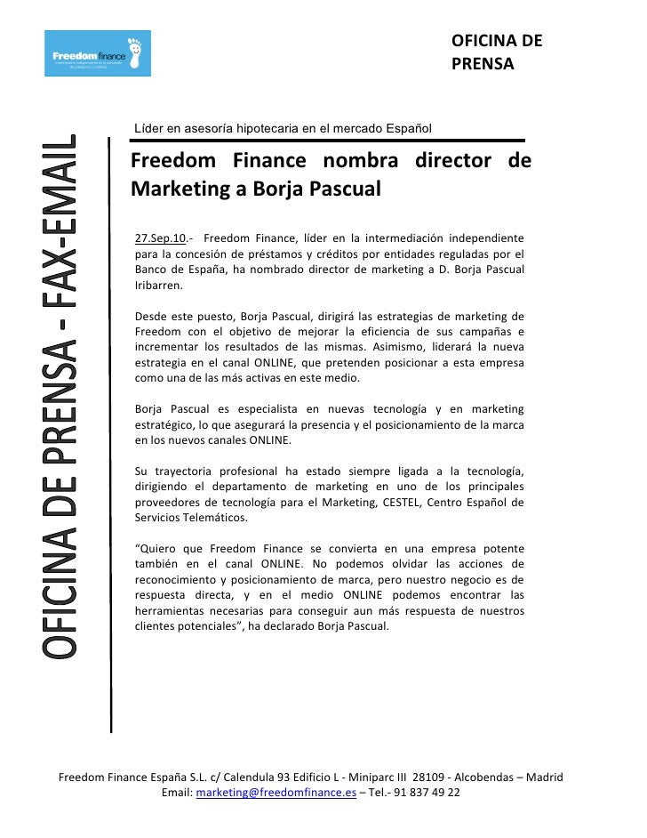 OFICINA DE                                                                            PRENSA                 Líder en ases...