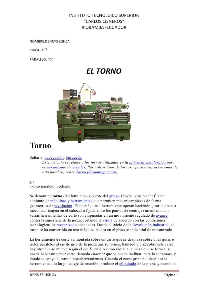 """INSTITUTO TECNOLGICO SUPERIOR                               """"CARLOS CISNEROS""""                              RIOBAMBA -ECUAD..."""
