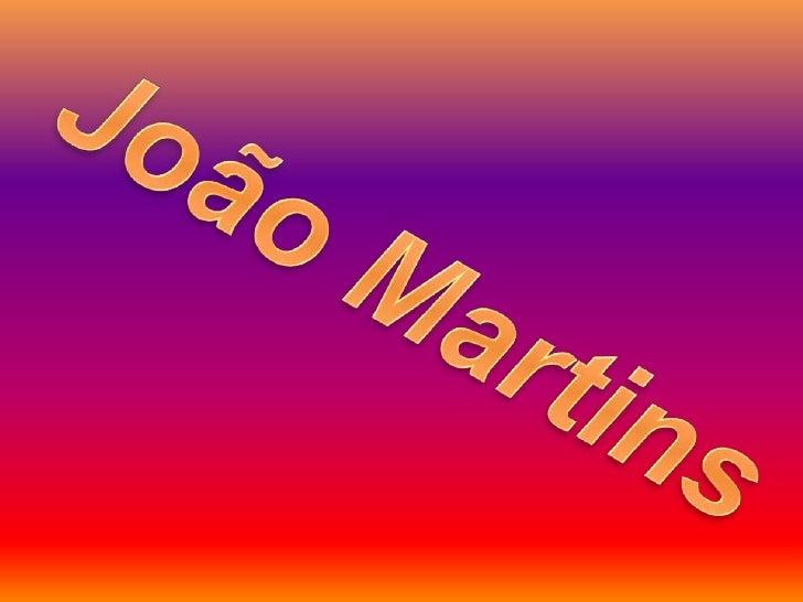 João Martins<br />