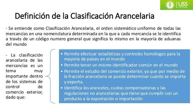 Nomenclatura arancelaria 01 for Definicion exterior