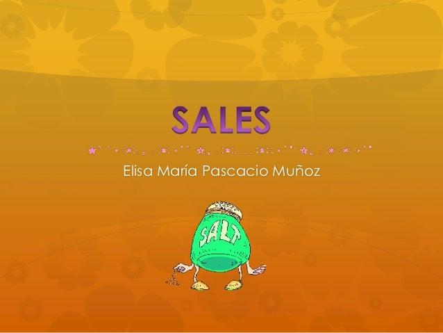 Elisa María Pascacio Muñoz