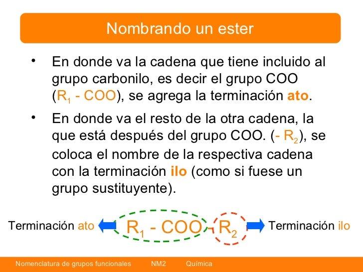 Nomenclatura grupos funcionales quimica organica for Que significa molecula