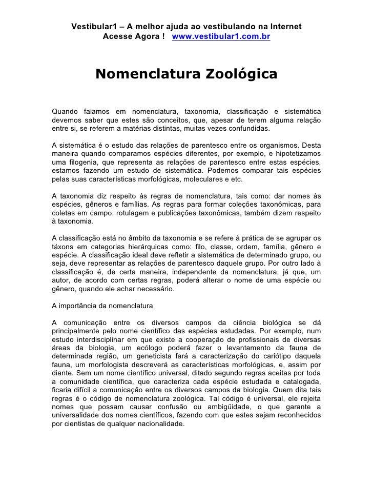 Vestibular1 – A melhor ajuda ao vestibulando na Internet            Acesse Agora ! www.vestibular1.com.br             Nome...