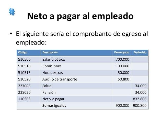 Nomina for Ejemplo nomina trabajador