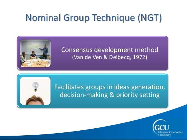 nominal group technique example