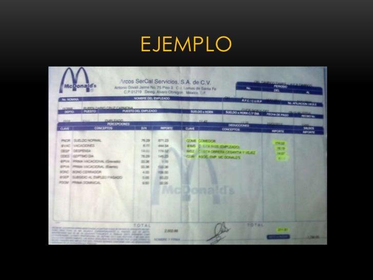 Nominas for Ejemplo nomina trabajador