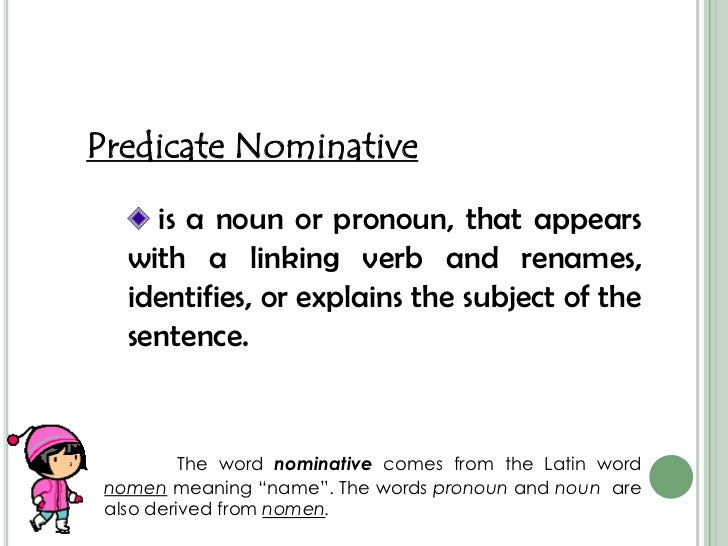 Predicate Pronoun Sentences Data Set