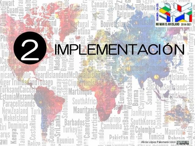 Alicia López Palomera 2020 2 IMPLEMENTACIÓN