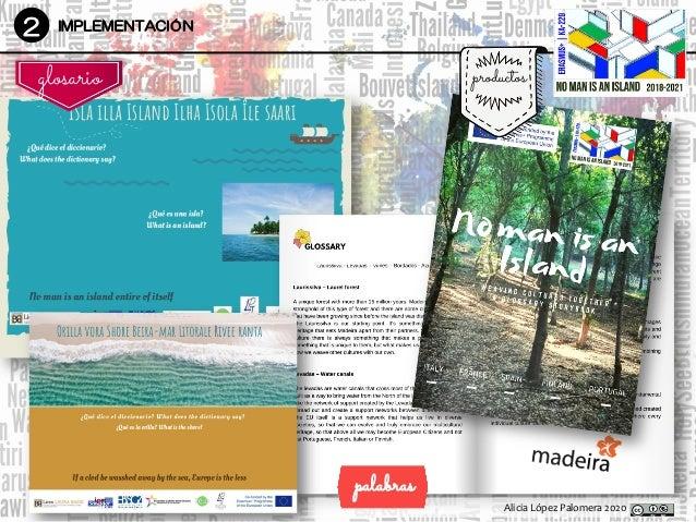 Alicia López Palomera 2020 2 IMPLEMENTACIÓN productos DesarrolloDesarrollo glosario palabras