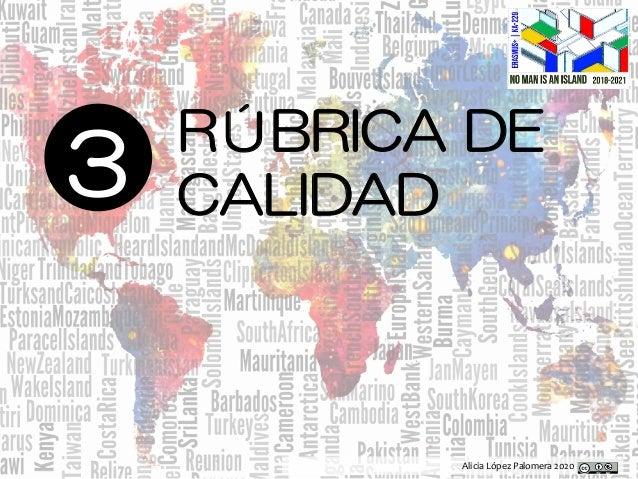Alicia López Palomera 2020 3 RÚBRICA DE CALIDAD