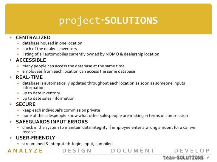 Nomo1 Database Proposal Final