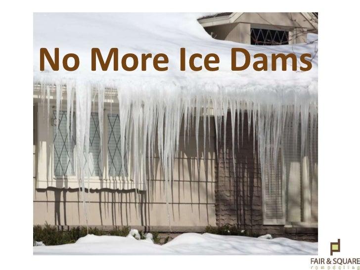 No More Ice Dams <br />