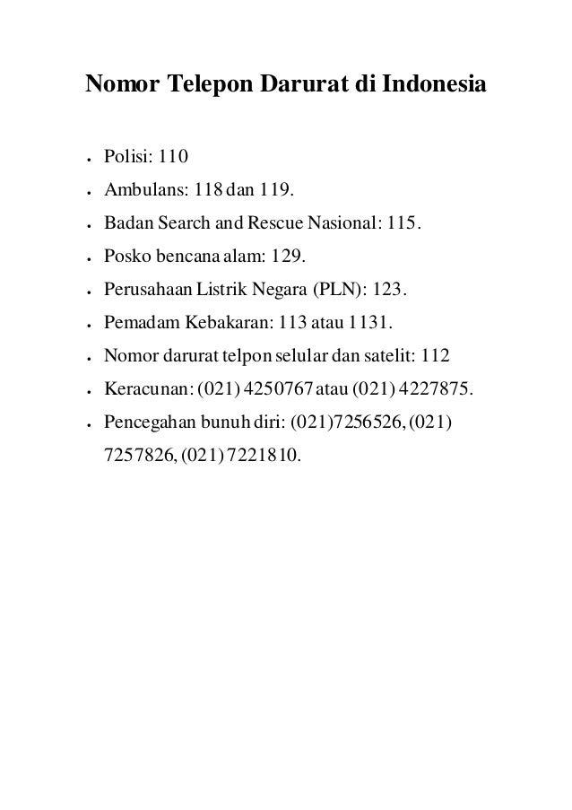 Cara Buat Nomor Darurat Indonesia 112 Layanan Apa Melex News