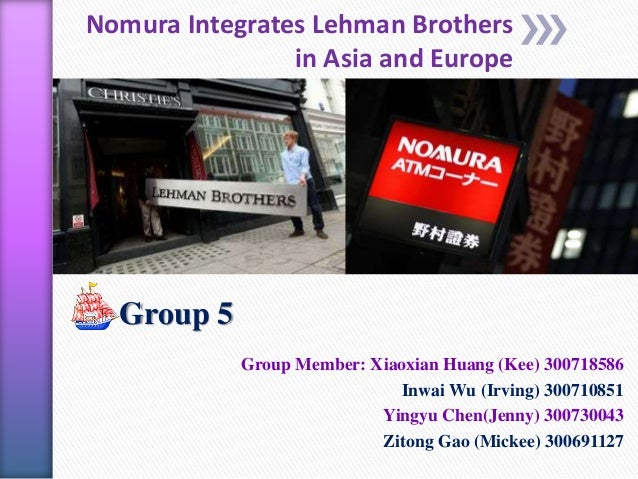 nomura lehman acquisition Nomura seal $2 lehman brothers deal  the acquisition, revealed today in the daily telegraph, will also see the return of jeremy isaacs, former chief executive of lehmans in europe, the middle .