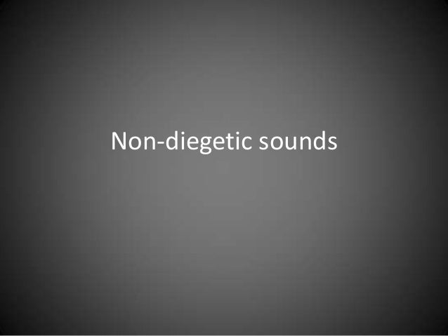 Non-diegetic sounds