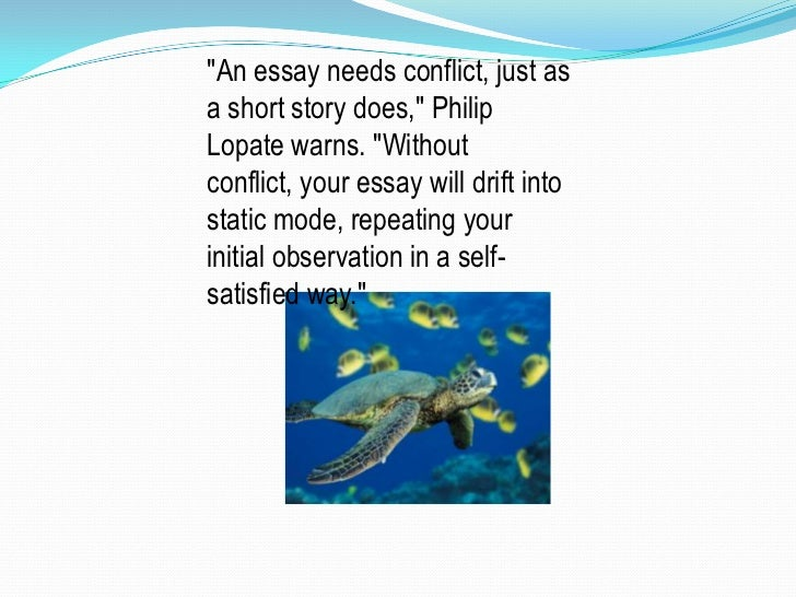short personal essay