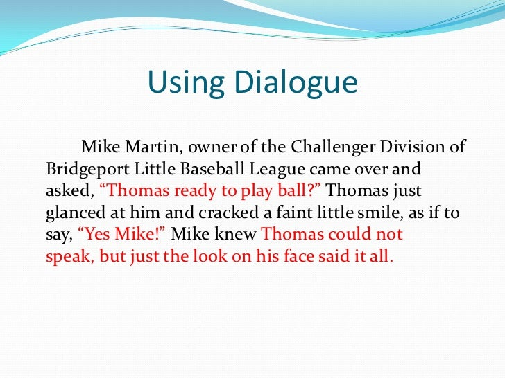 dialogue essays Dialogue is (1) a verbal exchange between two or more people, or (2) a conversation reported in a drama or narrative learn more.