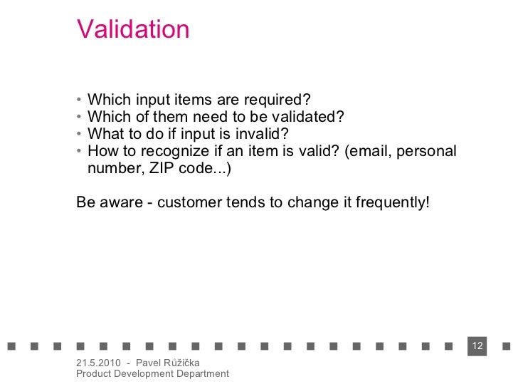 Validating non-functional requirements document