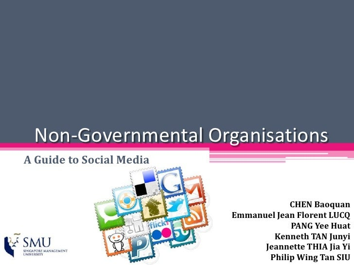 Non Governmental Organisations And Social Media (Final)