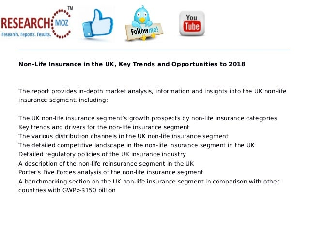 Non-Life Insurance in the UK, Key Trends and Opportunities to 2018 The report provides in-depth market analysis, informati...