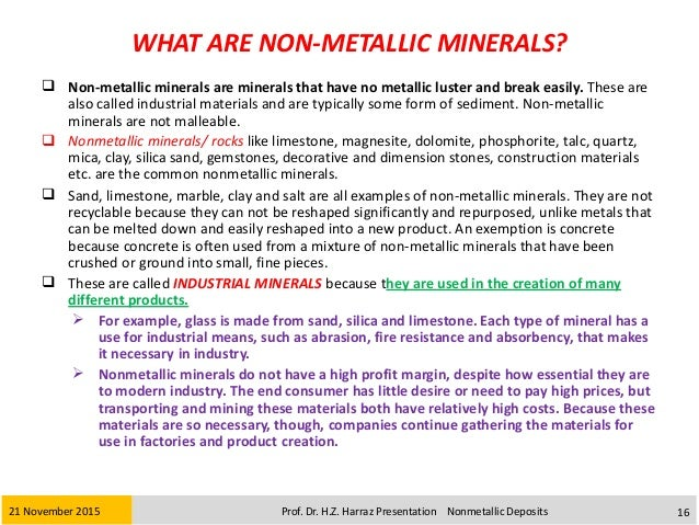 What Minerals Are Used In Paint