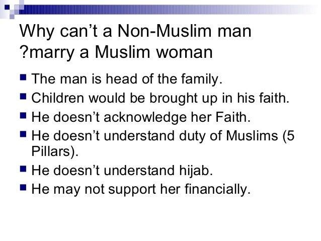 Muslim man dating a christian woman