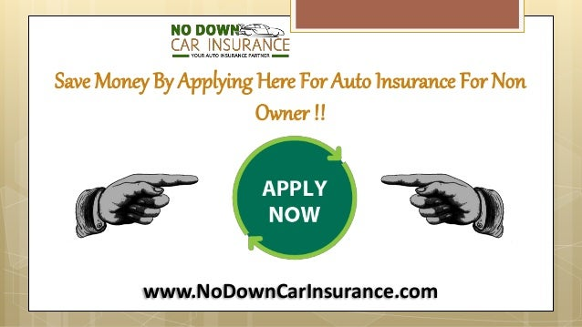 How To Get Auto Insurance Without Owning A Car