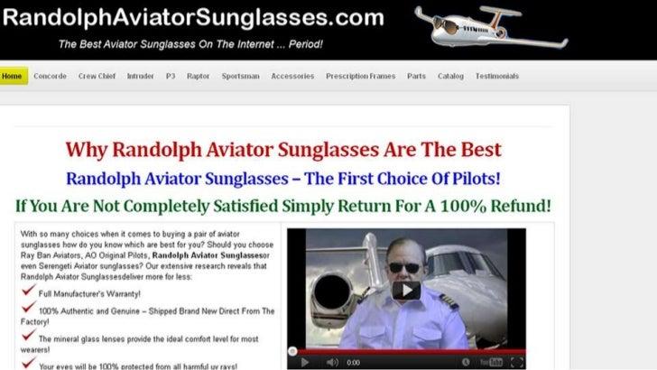 Randolph Aviator Sunglasses bywww.RandolphAviatorSunglasses.com