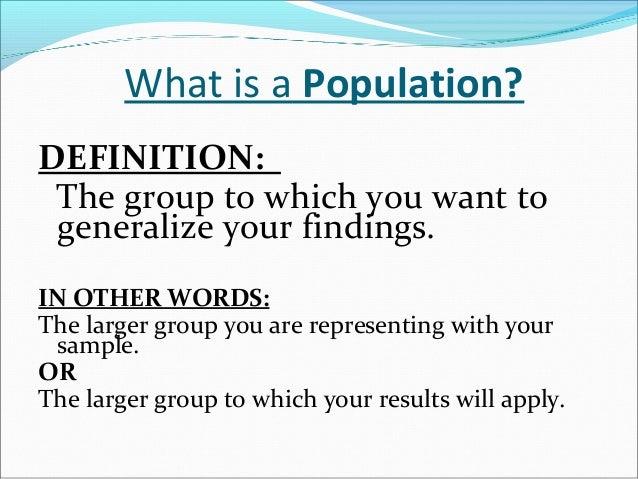 Non Probability Sampling Slide 3