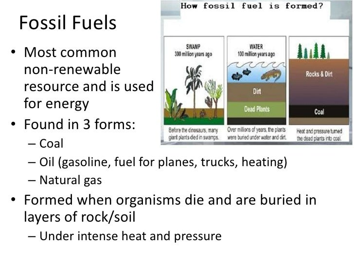Non renewable energy sources projects to do at home.
