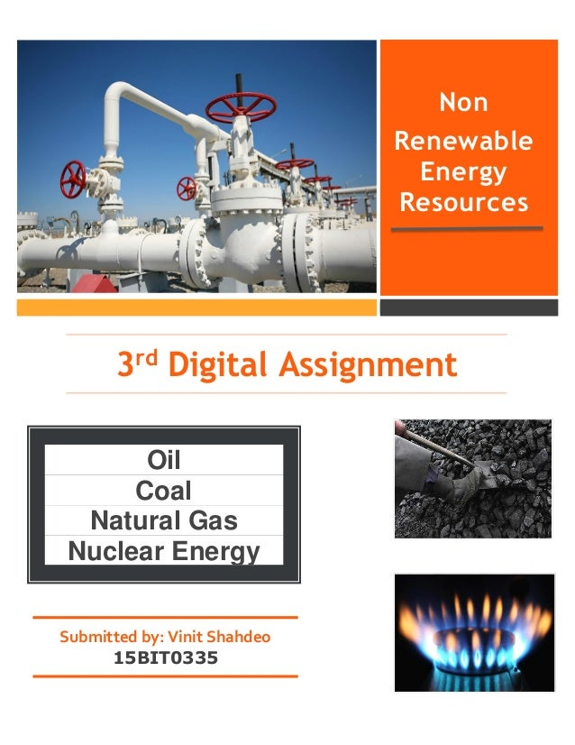 Non Renewable Sources Of Energy