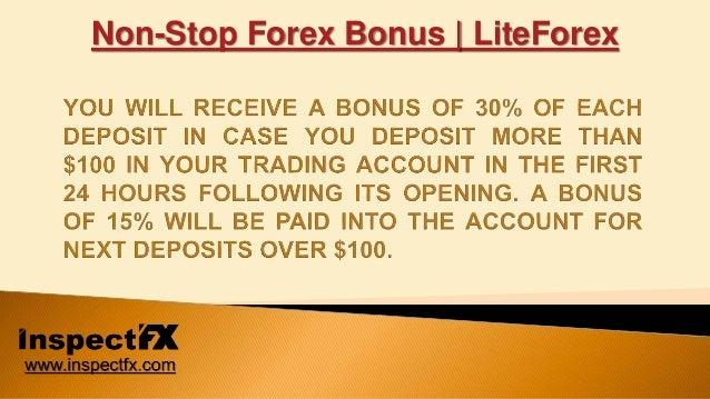 Non deposit forex bonus 2016
