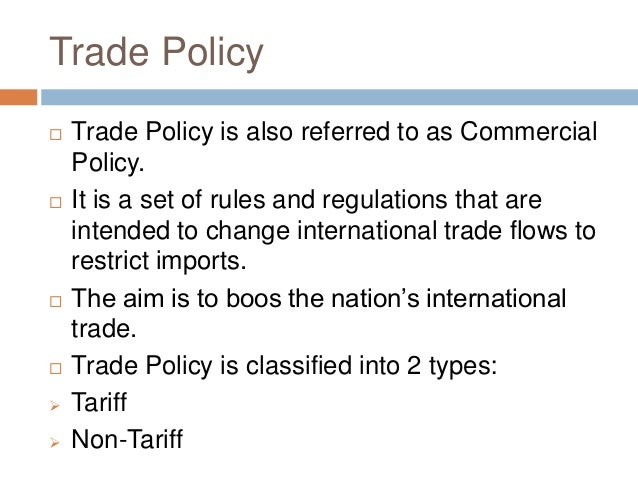 trade barriers regulation Participation in the trade policy process can be facilitated as far as barriers in export markets are concerned, firms, large and small, continue to face import tariffs non-tariff barriers matter equally, if not more, with customs procedures and domestic regulations emerging as widely noted impediments to trade and less direct.