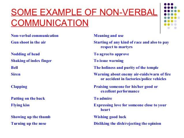 Seminar On Non verbal communication