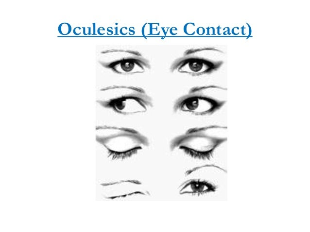 facial kinesics oculesics and kinesics essay Oculesics, a subcategory of kinesics, is the study of eye movement, eye behavior,  gaze, and  most prominently, oculesics play a major role in the facial action  coding system (facs), which is a  in his essay the coordinated management  of meaning (cmm), dr wbarnett pearce discusses how people derive meaning  in.