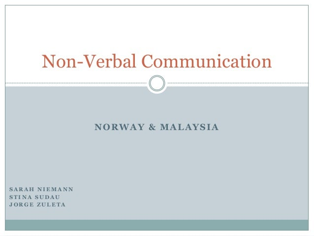common nonverbal communication and data protection Behaviors, how culture influences verbal communication behaviors and nonverbal communication behaviors, as well as how culture affects the use of interruptions data were gathered through interviews from a sample of 24 participants representing 20 cultures.