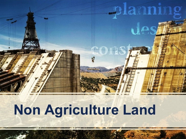 Non Agriculture Land