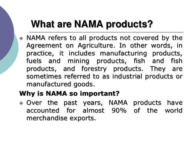 Non Agriculture Marketaccessissuesandconcernsforindia