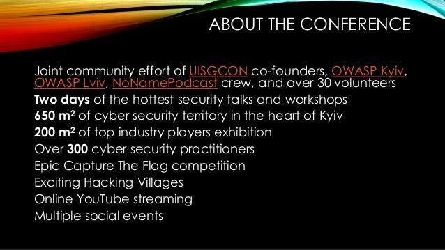 NoNameCon partnership opportunities Slide 2