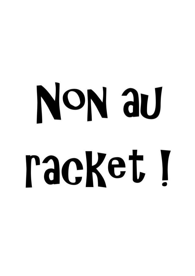 Non au racket