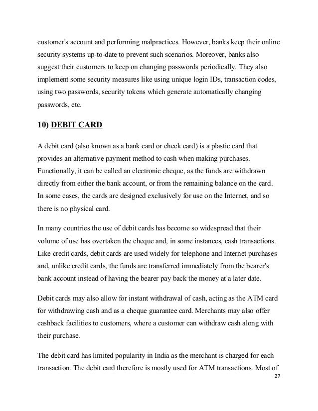 sbi atm card replacement letter