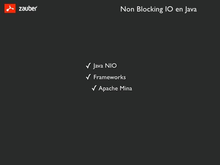 Java NIO – Non Blocking IO and Multiplexing