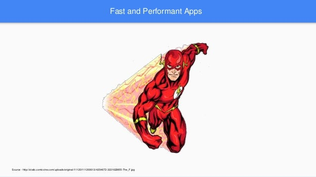 Building fast and performant apps Slide 3