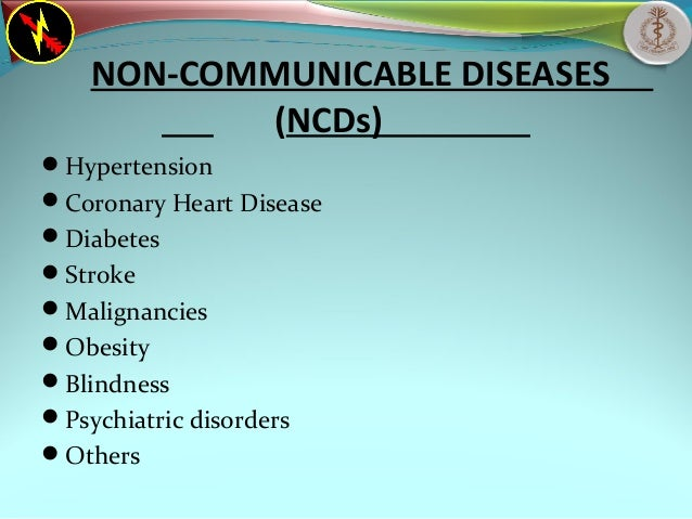 causes of non communicable diseases pdf