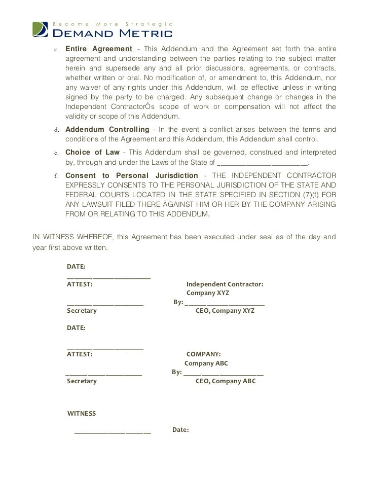 Non Compete Agreement Template
