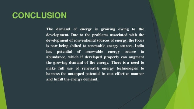 non conventional energy resources in india essay Subject - india & world geography chapter :non-conventional energy hydro power in india india has a unique culture and is one of the oldest and greatest civilizations of.