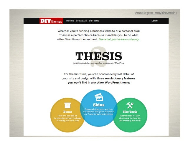 get thesis theme nulled Neil Patel Thesis from DIY Themes is the ultimate  design and template Diamond Geo Engineering Services