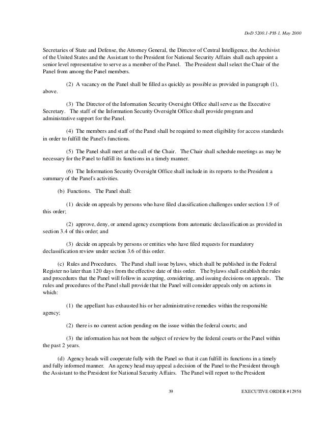 U S Department Of State Non Disclosure Agreement